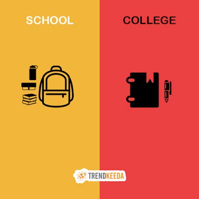 The Differences Between High School And College Essay